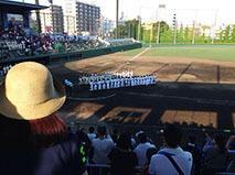 ベンツマーク校野球部夏の大会