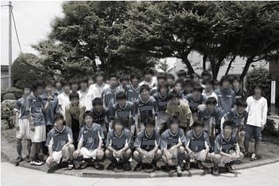 2013年インターハイ都一次決勝後の集合写真